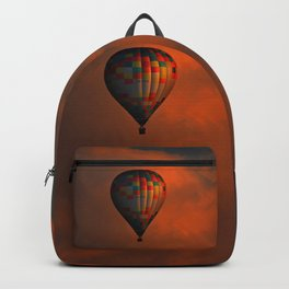 Balloon flight at sunset Backpack