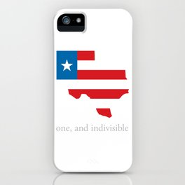 7th Flag of Texas iPhone Case