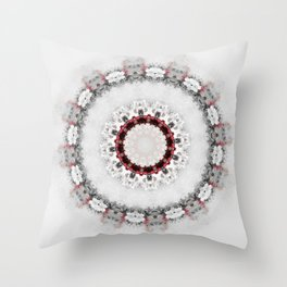 Watercolor Mandala Throw Pillow