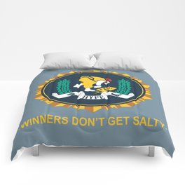 Winners Don't Get Salty Comforters