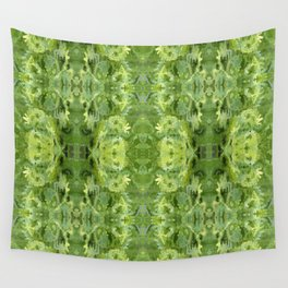 157 - spring plants design Wall Tapestry