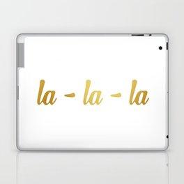 la-la-la 2 Laptop & iPad Skin