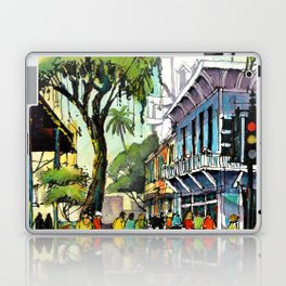 Duval Street, Key West Laptop & iPad Skin