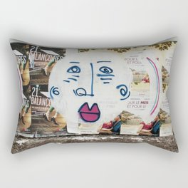 Big Face Rectangular Pillow