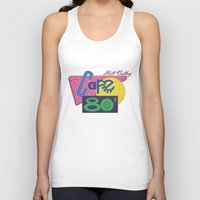 80s Tank Tops featuring Cafe 80s by Loku