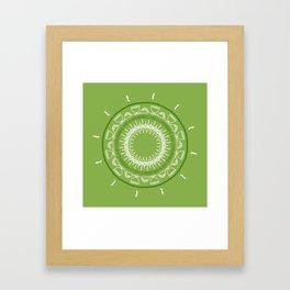Simple Eucharist Wreath Framed Art Print