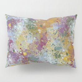 Punched-Up Pansies Pillow Sham