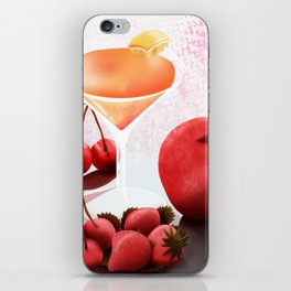 Fruits Cocktail iPhone Skin