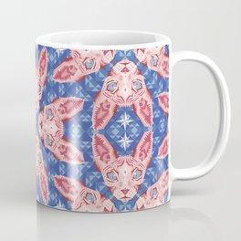 Sphynx Cat - Rose Quartz and Serenity version Coffee Mug