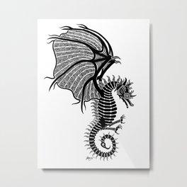 Sea Wyvern Metal Print