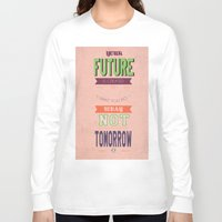 word Long Sleeve T-shirts featuring WORD by Anthony Morell