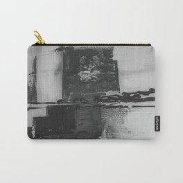 Black and White Pattern Carry-All Pouch