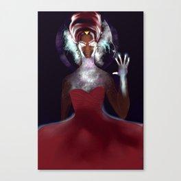 Black Goddess Oya Orisha  Canvas Print