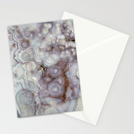 Agate Slab Stationery Cards