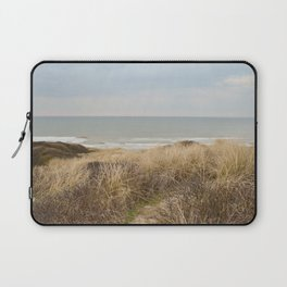 View of the North Sea from the dunes Laptop Sleeve
