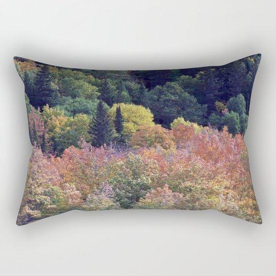 Autumn Hillside Rectangular Pillow