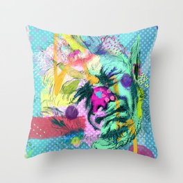 Notes on sincerity Throw Pillow