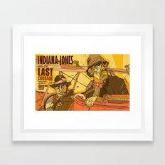 last crusade Framed Art Print