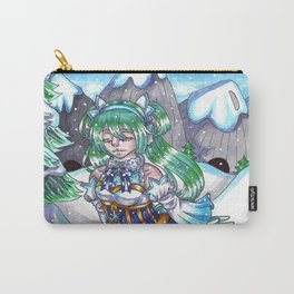 Miku on Ice Carry-All Pouch