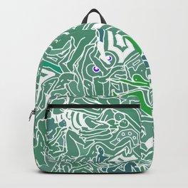 Body Map - Sea Green Backpack