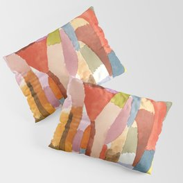 "Paul Klee ""Movement of Vaulted Chambers 1915"" Pillow Sham"