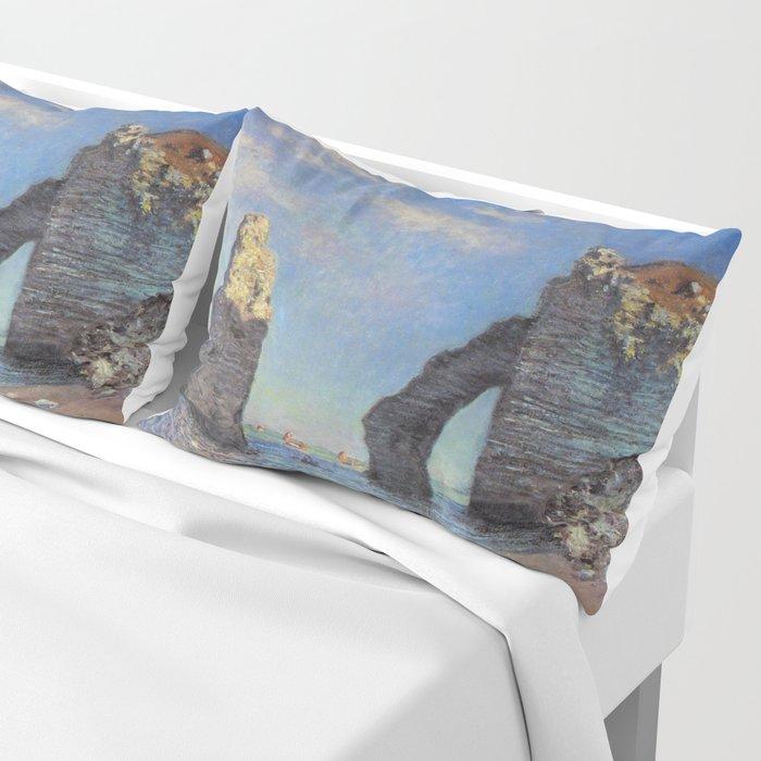 Claude Monet's The Cliffs at Etretat Pillow Sham