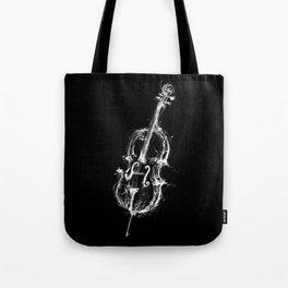 Black Cello Tote Bag