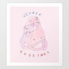 Tender Together Art Print