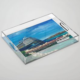 Ride to paradise, Dream Acrylic Tray