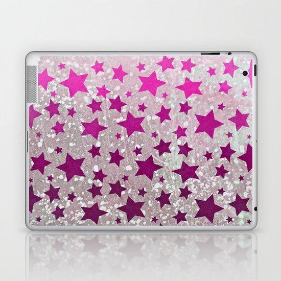 All Stars...Galaxy Pink Laptop & iPad Skin