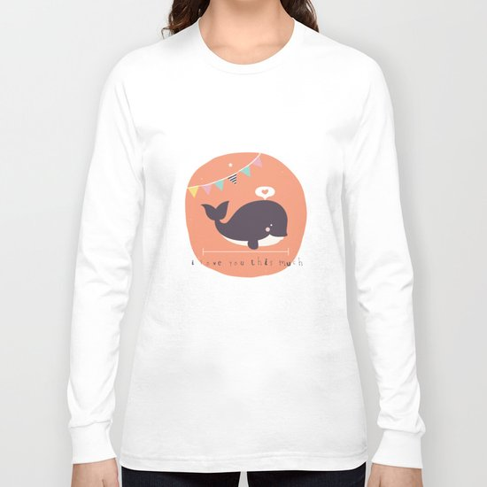 Wanda Whale Long Sleeve T-shirt