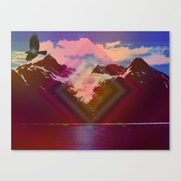 Into another dimension Canvas Print