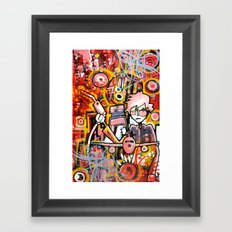 Filler Up Framed Art Print