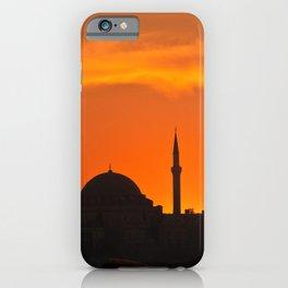 Istanbul Mosque iPhone Case