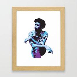 Gil Scott-Heron Framed Art Print