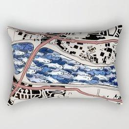 Lacking in Depth Rectangular Pillow