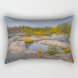Fall in a skerry  Rectangular Pillow