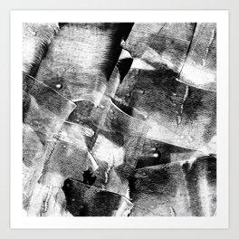 Block Print Textures Abstract Design Art Print