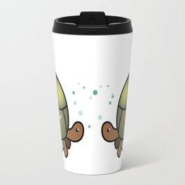 Turtle in a Circle Travel Mug