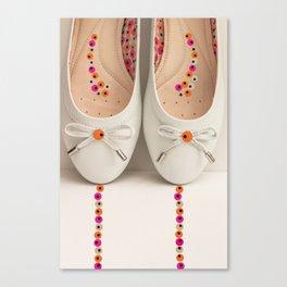 Pretty Ballerinas  Canvas Print
