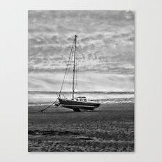 Wait to sail Canvas Print