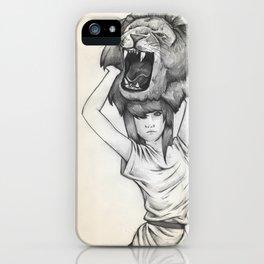 The Lion's Roar iPhone Case