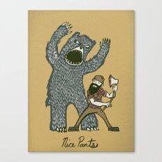 Nice Pants Canvas Print