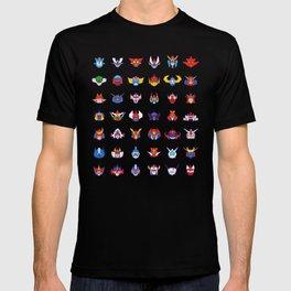 071b 70s Robots color T-shirt