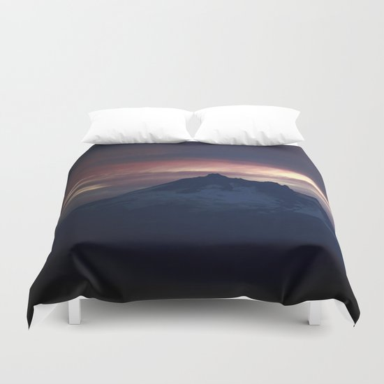Jefferson at Sunset Duvet Cover