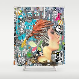 Pop UP - ONE Shower Curtain