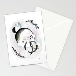 Pretzel Stationery Cards