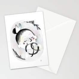 Pretzel Stationery Cards