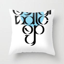 Original Copy Throw Pillow