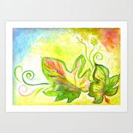 Hops dance Art Print